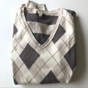Burberry plaid sweater